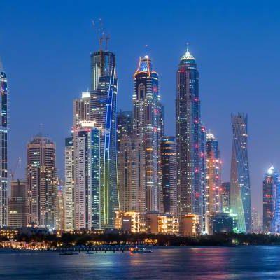 Panorama Dubaia